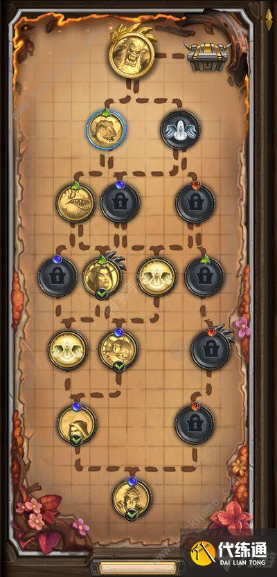 爐石傳說傭兵模式怎么玩 傭兵模式通關攻略
