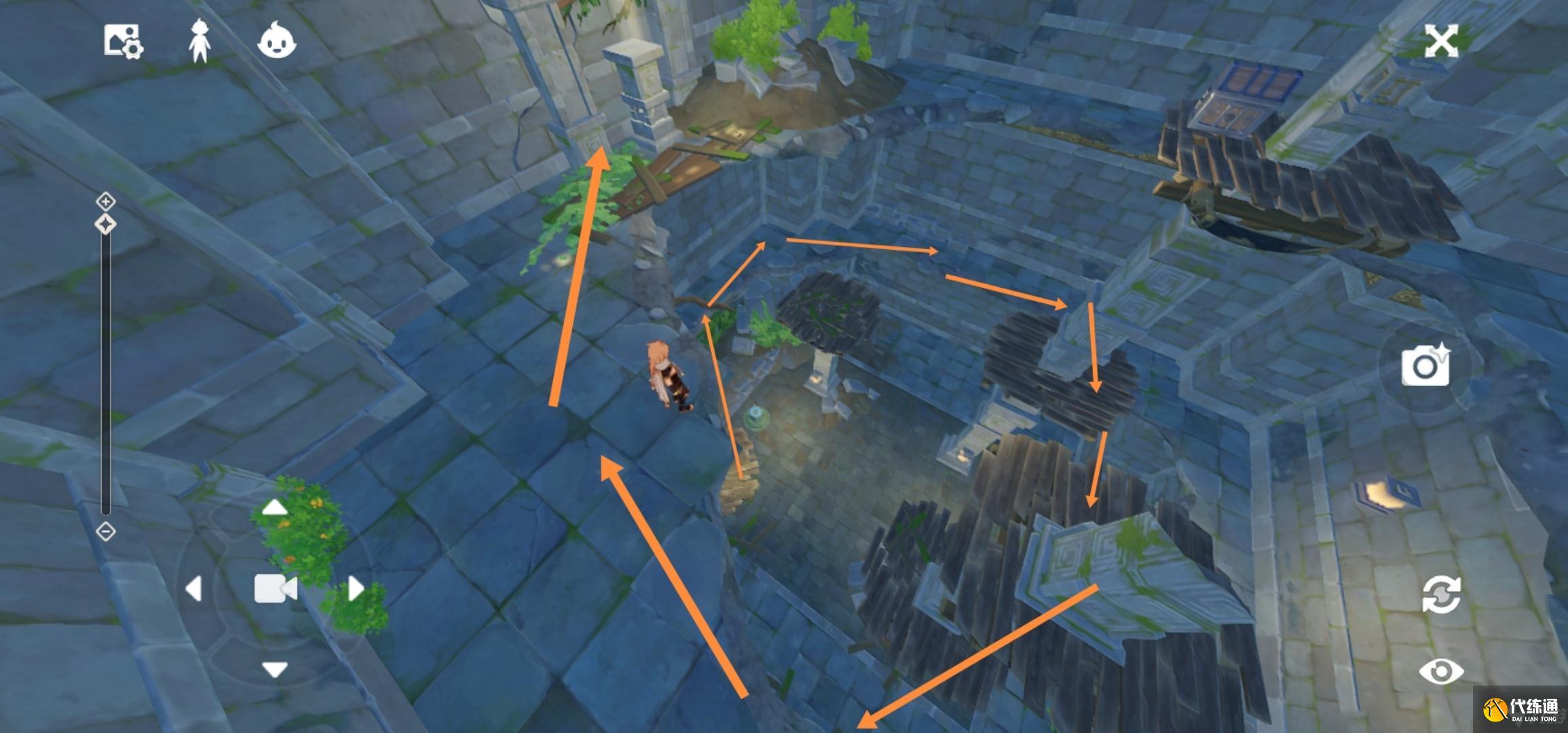 原神天遒谷解密爬塔怎么快速攀爬
