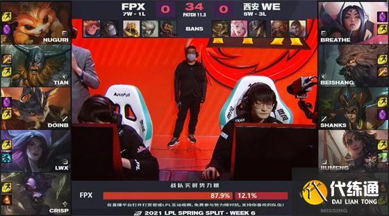 LOL:牛寶Shy化,沒Bo不行!FPX 0-2不敵WE