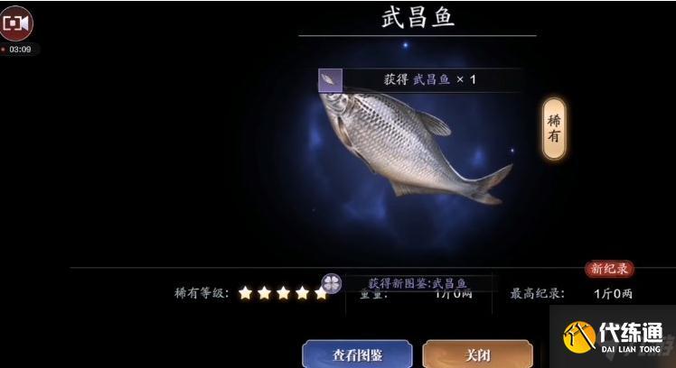《天涯明月刀手游》武昌魚在哪釣 武昌魚釣魚點介紹