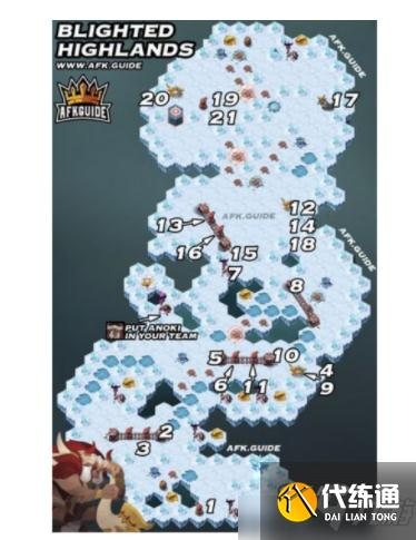 劍與遠征雪與火怎么通關?雪與火懶人一圖通關流及通關獎勵介紹