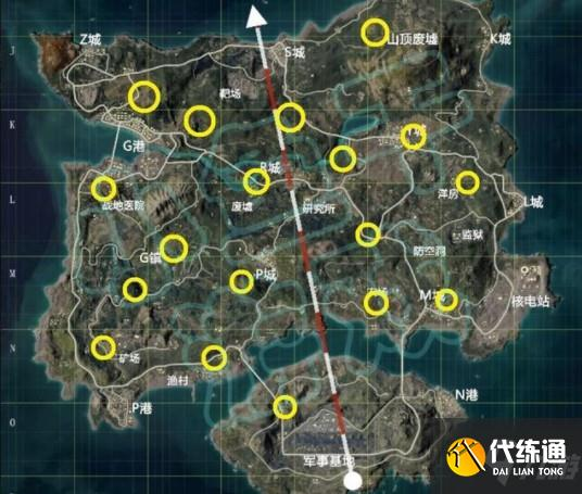 和平精英奪寶戰場撤離直升機位置介紹