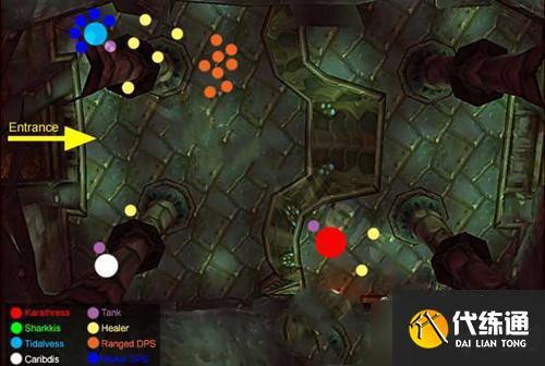 《魔獸世界懷舊服》毒蛇神殿首領深水領主卡拉瑟拉斯攻略