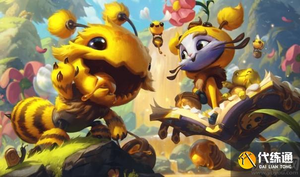 英雄聯盟小蜜蜂貓咪怎么獲得 lol悠米小蜜蜂皮膚多少錢