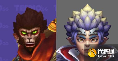 LOL悟空戰斗學院新皮膚評測:加了美顏濾鏡,猴哥也變帥了?