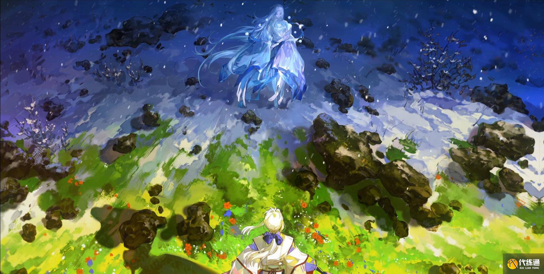 陰陽師新SP式神蟬冰雪女情報公開 回歸最傳統的純色調冰山美人
